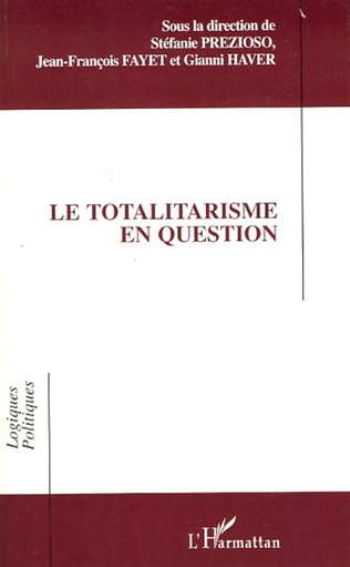 Couverture Le totalitarisme en question