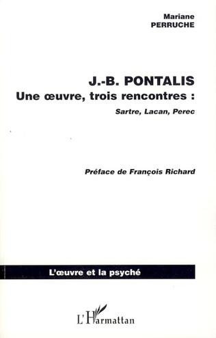 Couverture J.B. PONTALIS