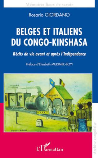 Couverture Belges et italiens du Congo-Kinshasa