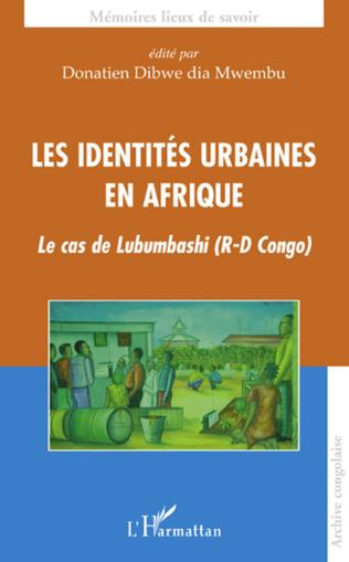 Couverture Les identités urbaines en Afrique