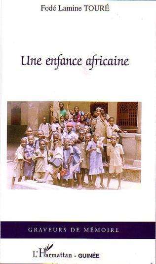 Couverture Une enfance africaine