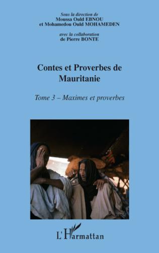 Couverture Contes et proberves de Mauritanie - Tome 3