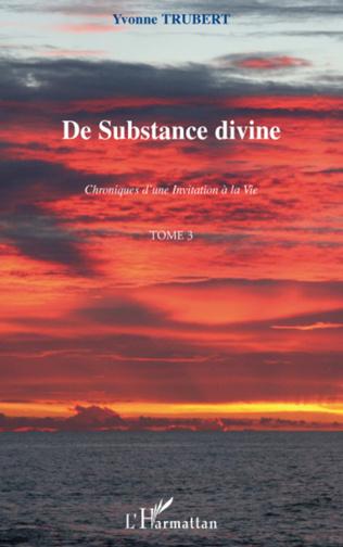 Couverture De substance divine