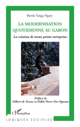 Couverture La modernisation quotidienne au Gabon