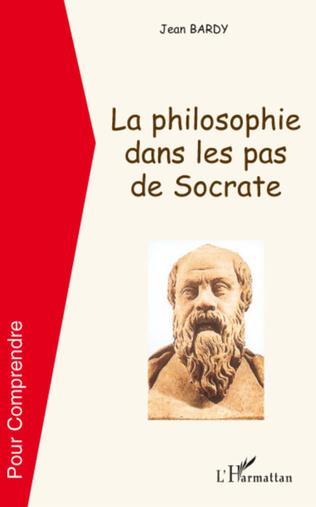 Couverture La philosophie dans les pas de Socrate