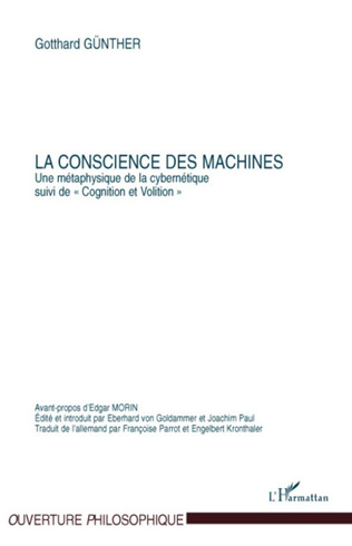 Couverture La conscience des machines