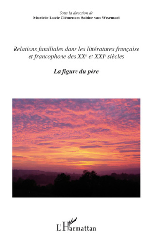 Couverture Relations familiales dans les littératures française et francophone