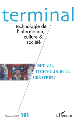 Couverture Net art, technologie ou création ?