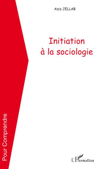 Couverture Initiation à la sociologie