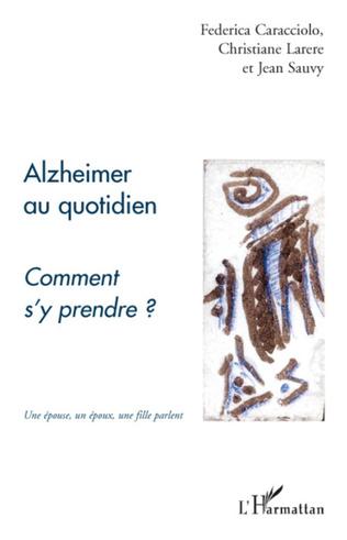 Couverture Alzheimer au quotidien