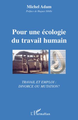 Couverture Pour une écologie du travail humain