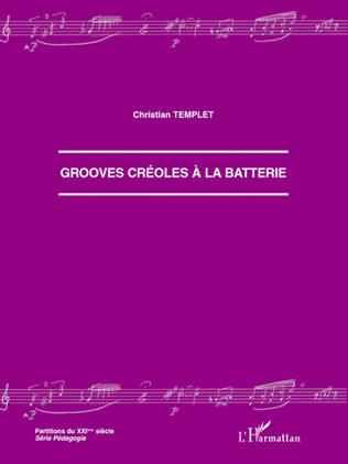Couverture Grooves créoles à la batterie