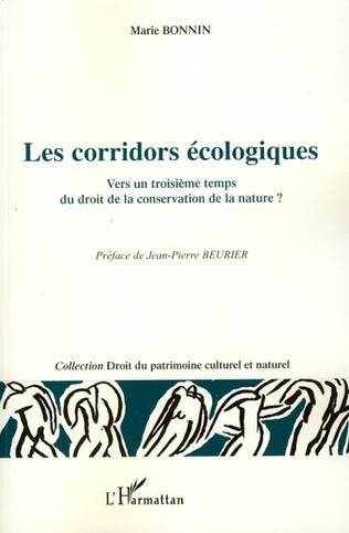 Couverture Les corridors écologiques