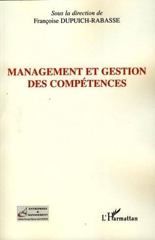 Couverture Management et gestion des compétences
