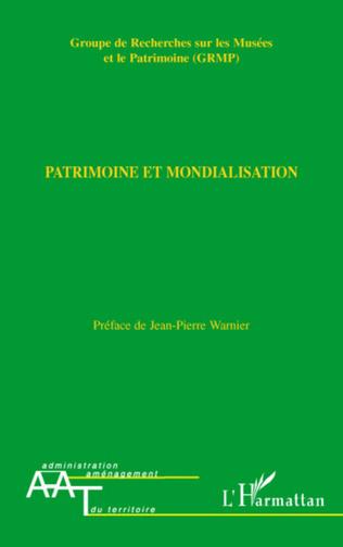 Couverture Patrimoine et mondialisation