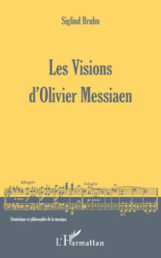 Couverture Les Visions d'Olivier Messiaen