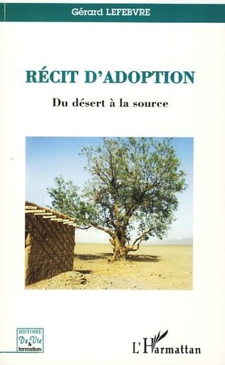 Couverture Récit d'adoption