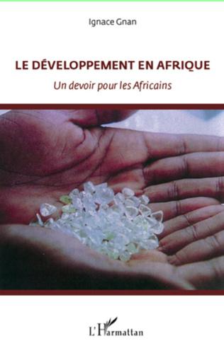 Couverture Le développement en Afrique