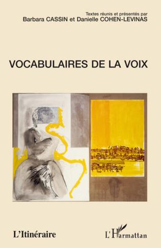 Couverture Vocabulaires de la voix