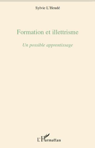 Couverture Formation et illettrisme