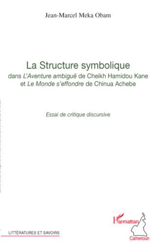 Couverture La structure symbolique dans