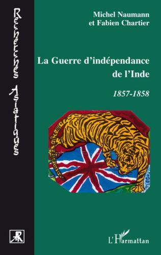 Couverture La guerre d'indépendance de l'Inde