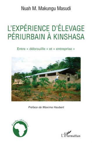 Couverture L'expérience d'élevage périurbain à Kinshasa
