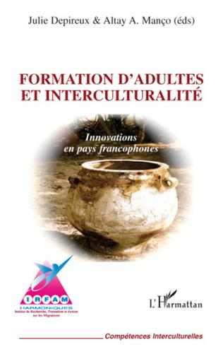 Couverture Formation d'adultes et interculturalité