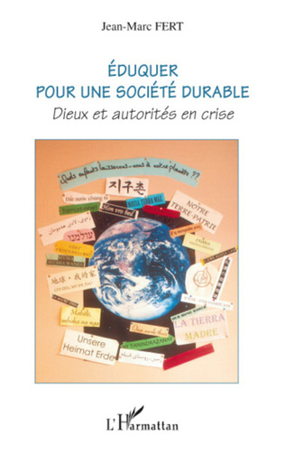 Couverture Eduquer pour une société durable