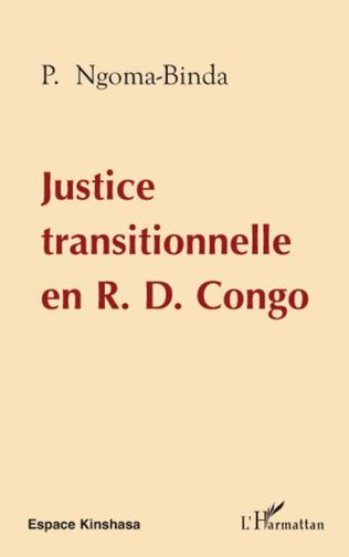 Couverture Justice transitionnelle en RD Congo