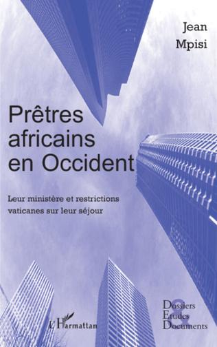 Couverture Prêtres africains en Occident