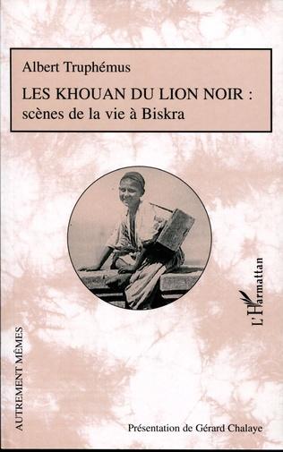 Couverture Les Khouan du Lion Noir