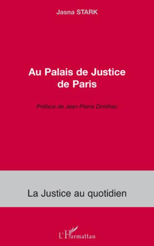Couverture Au Palais de Justice de Paris
