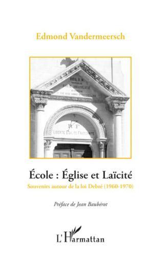 Couverture Ecole: Eglise et Laïcité