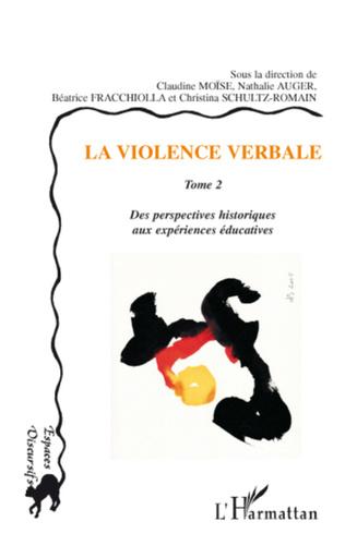 Couverture La violence verbale Tome 2