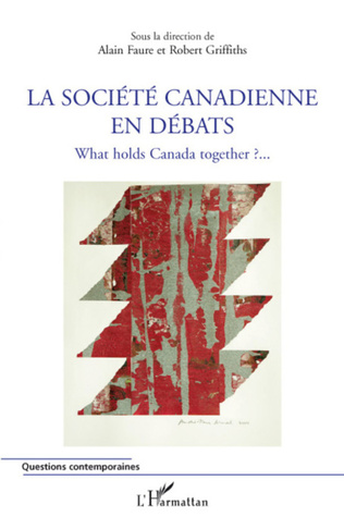 Couverture La société canadienne en débats