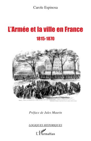 Couverture L'armée et la ville en France