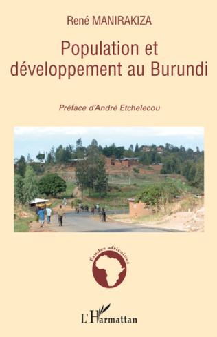 Couverture Population et développement au Burundi