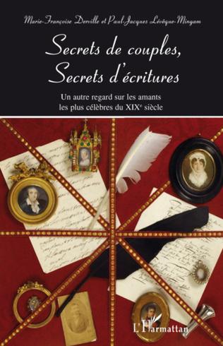 Couverture Secrets de couples, secrets d'écritures