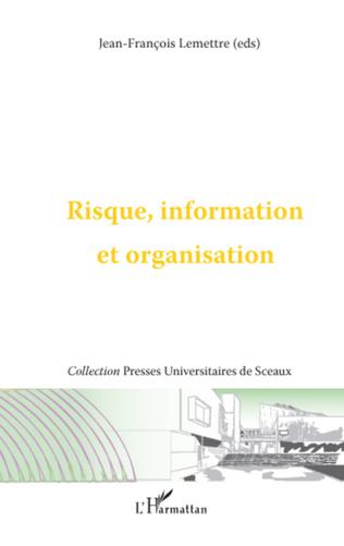Couverture Risque, information et organisation