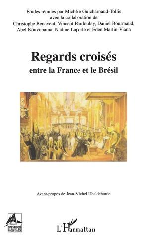 Couverture Regards croisés entre le France et le Brésil