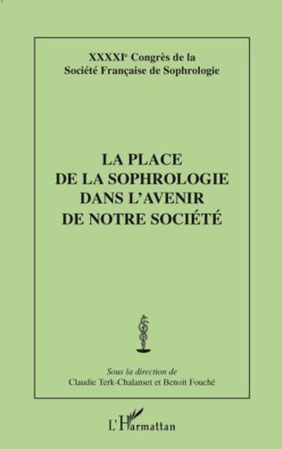 Couverture La place de la sophrologie dans l'avenir de notre société