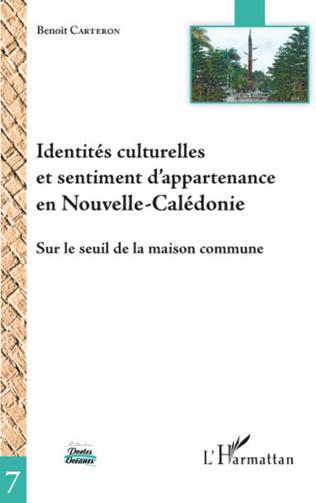 Couverture Identités culturelles et sentiment d'appartenance en Nouvelle-Calédonie