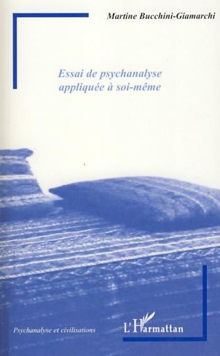 Couverture Essai de psychanalyse appliquée à soi-même