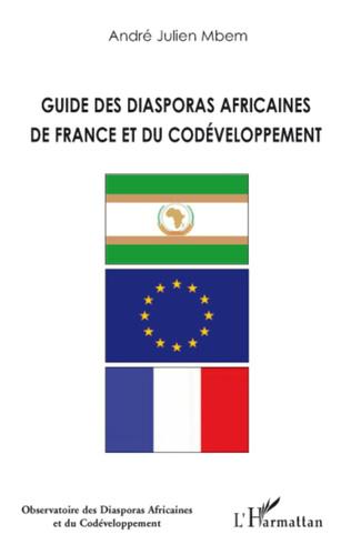Couverture Guide des diasporas africaines de France et du codéveloppement