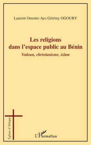 Couverture Les religions dans l'espace public au Bénin