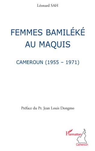 Couverture Femmes bamiléké au maquis