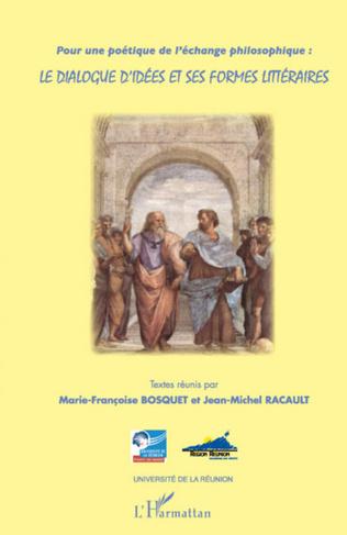 Couverture Pour une poétique de l'échange philosophique :