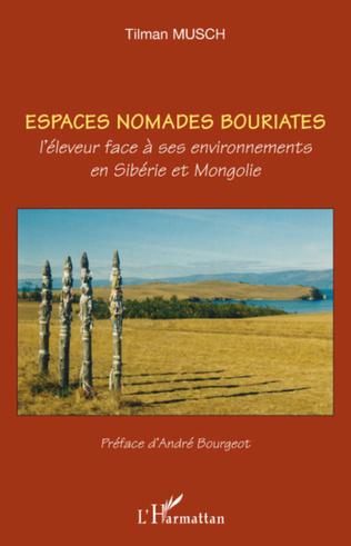 Couverture ESPACES NOMADES BOURIATES