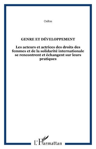 Couverture Genre et développement